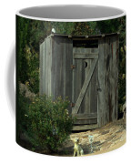 The Double Seat Outhouse Coffee Mug