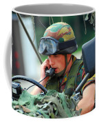 The Driver Of A Mortar Section Coffee Mug by Luc De Jaeger