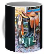 The English Saddle Coffee Mug