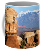 The Face Of Arches Coffee Mug