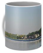 The Fairmount Dam And Boathouse Row Coffee Mug