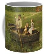 The Ferry Coffee Mug by Edward Stott