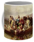 The Ferry  Coffee Mug by Johann Till