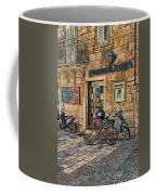 The Ferry Ticket Office Corfu Croatia Coffee Mug