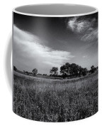 The First Homestead In Black And White Coffee Mug