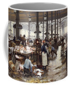 The Fish Hall At The Central Market  Coffee Mug
