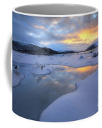 The Fjord Of Tjeldsundet In Troms Coffee Mug