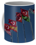 The Flags Of The Participating Nations Coffee Mug