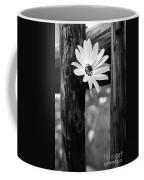 The Flower Bw Coffee Mug