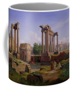 The Forum Rome  Coffee Mug