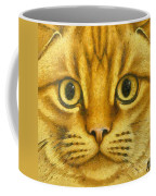 The French Orange Cat Coffee Mug