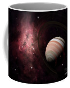 The Gas Giant Carter Orbited By Its Two Coffee Mug