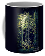 The Gate In The Grotto Of The Redemption Iowa Coffee Mug