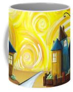 The Gated Community Coffee Mug by Cindy Thornton
