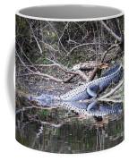 The Gator That Lives Under The Bridge Coffee Mug