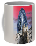 The Gherkin London Coffee Mug by Jasna Buncic