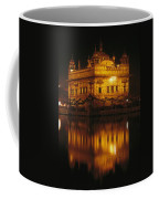 The Golden Temple Is Reflected Coffee Mug
