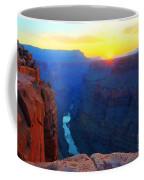 The Grand Canyon Solitude At Toroweap Coffee Mug