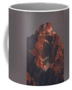 The Grand Teton At Sunrise Coffee Mug