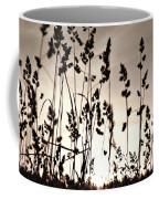 The Grass At Sunset Coffee Mug