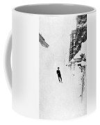 The Great Blizzard, Nyc, 1888 Coffee Mug by Science Source