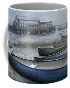 The Green Canoe Coffee Mug by Debra and Dave Vanderlaan