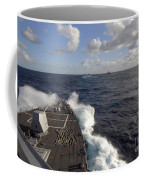 The Guided-missile Destroyer Uss Nitze Coffee Mug