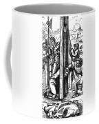 The Guillotine, 18th Century Coffee Mug by Science Source