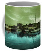 The Harbour At Padstow Coffee Mug