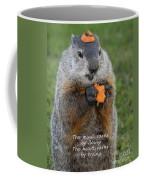 The Heart Earns By Trying Coffee Mug