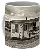 The Heart Of Glady Sepia Coffee Mug