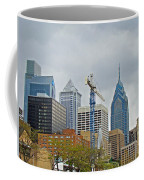 The Heart Of The City - Philadelphia Pennsylvania Coffee Mug by Mother Nature