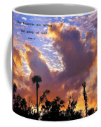 The Heavens Tell Coffee Mug