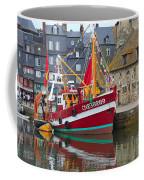 The Historic Fishing Village Of Honfleur Coffee Mug