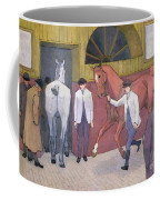 The Horse Mart  Coffee Mug by Robert Polhill Bevan