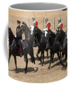 The Household Cavalry Performs Coffee Mug by Andrew Chittock