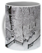 The Hundred Steps In The Snow Coffee Mug