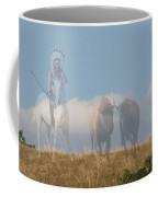 The Hunter Of Buffalo Coffee Mug