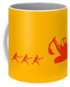 The Hunters Coffee Mug by Pixel Chimp