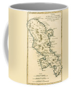 The Island Of Martinique Coffee Mug