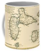 The Islands Of Guadeloupe Coffee Mug