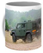 The Iveco Light Multirole Vehicle Coffee Mug by Luc De Jaeger