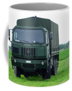 The Iveco M250 8 Ton Truck Coffee Mug by Luc De Jaeger