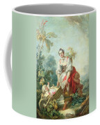 The Joys Of Motherhood Coffee Mug by Jean-Honore Fragonard