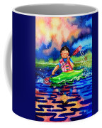 The Kayak Racer 11 Coffee Mug