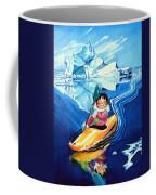 The Kayak Racer 13 Coffee Mug by Hanne Lore Koehler
