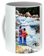 The Kayak Racer 14 Coffee Mug by Hanne Lore Koehler