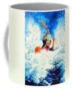 The Kayak Racer 16 Coffee Mug by Hanne Lore Koehler