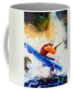 The Kayak Racer 17 Coffee Mug by Hanne Lore Koehler