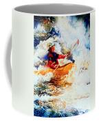 The Kayak Racer 19 Coffee Mug